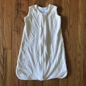 Halo Sleepsack Wearable Blanket 100% Cotton, cream